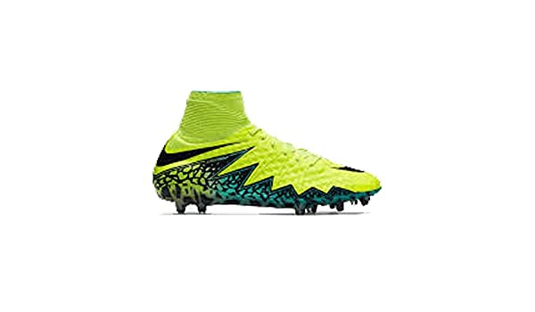 low priced 67958 deb37 Amazon.com   Nike Hypervenom Phantom II FG 747213-703 Volt Turqoise Jade  Men s Soccer Cleats (Size 11.5)   Soccer