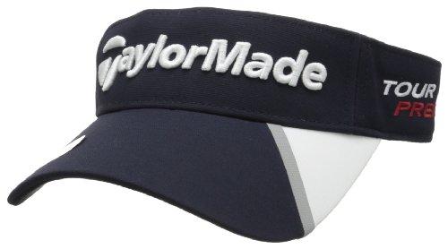 - TaylorMade Tour Split Visor, Navy, Adjustable