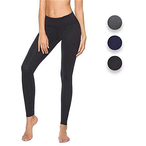 CLOZZ.U Yoga Pants Workout Leggings for Women High Waisted Pants with -