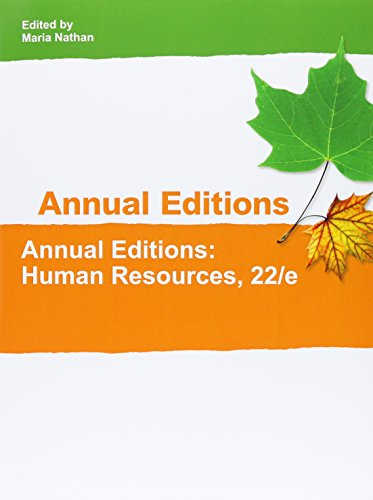 Human Resources (Annual Editions Human Resources)