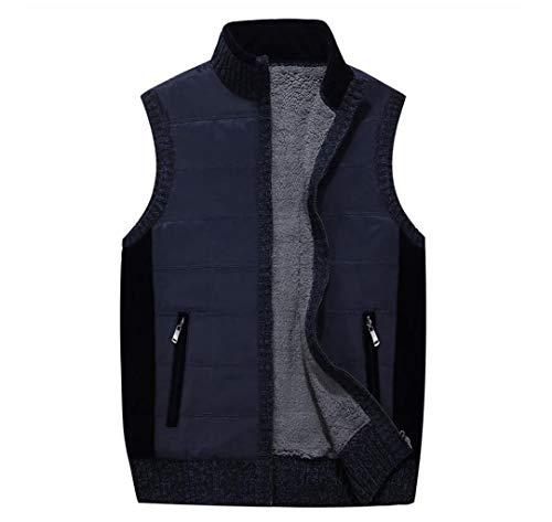 Manches Hiver Bleu Automne Cardigan Taille couleur Zjexjj Et Métropolitaine Sans Pour Homme BxEwf0A
