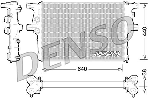 DENSO DRM12008 Radiator Engine Radiator Engine Radiator Engine Cooler: