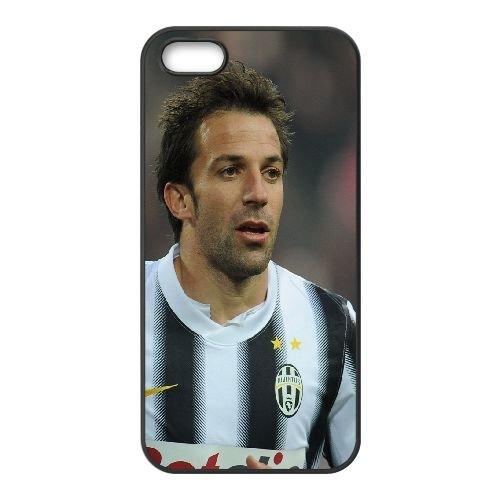 Del Piero Italy Juventus Footballer Football 26289 coque iPhone 4 4S cellulaire cas coque de téléphone cas téléphone cellulaire noir couvercle EEEXLKNBC24496
