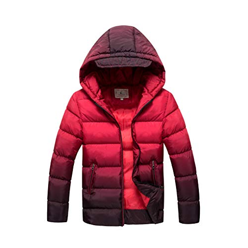 Cool&D Jongens winterjas kinderen winterjas gewatteerde jas katoen gevoerde jas met capuchon