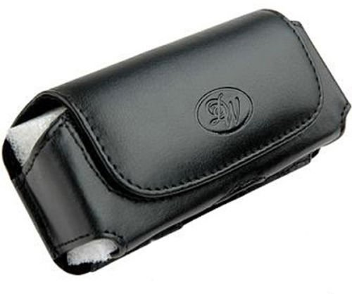 Leather Sideways Horizontal Belt Clip Case Pouch Cover for Samsung Galaxy Xcover GT-S5690 NEW!
