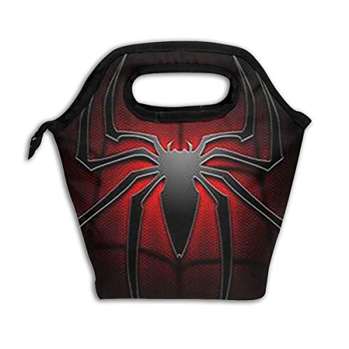Xzcxyadd Large Size Spider-Man Lunch Bag, Picnic Lunch Bag for Kids Insulated Lunch Bag Ice Lunch Box Containers for for Men, Women, Adults,School]()