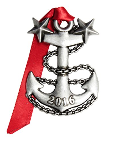 NEW! 2016 Navy Anchor Christmas Ornament by Gloria Duchin (Daughter Anchor)