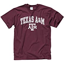 Texas A&M Aggies Arch & Logo Soft Style Gameday T-Shirt - Maroon ,