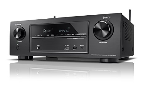 Denon AVR-X1400H 7.2-CH AV Surround Home Theatre Receiver with Bluetooth,...