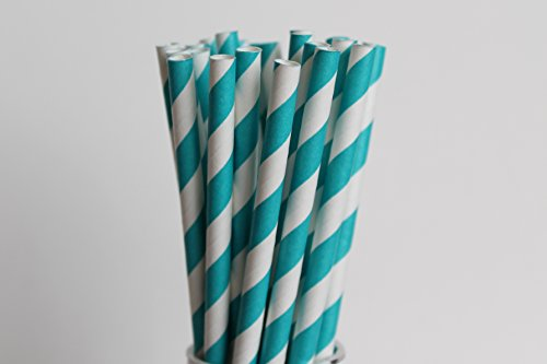 Light Pink and Gold Paper Straws Mix - Polka Dots and Stars