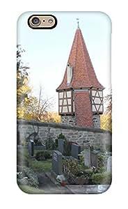 Fashion Tpu Case For Iphone 6- Burgbernheim Defender Case Cover