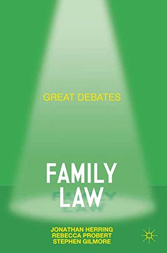 Great Debates in Family Law (Palgrave Great Debates in Law)