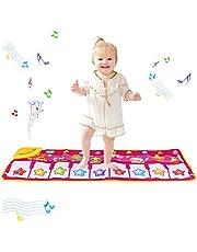 PROACC Update Piano Playmat, kinderpianotoetsenbord, muziekspeelmat, speelgoed, groot formaat (81 x 13,8 inch), grappige dansmat voor baby's, peuters, jongens en meisjes