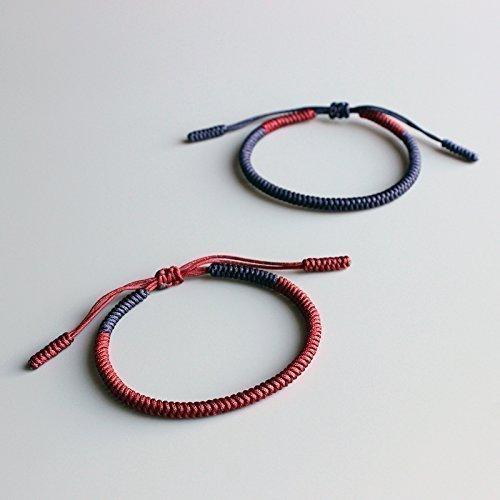 TALE Lucky Rope Bracelet Tibetan Buddhist Handmade Knots - Loyalty