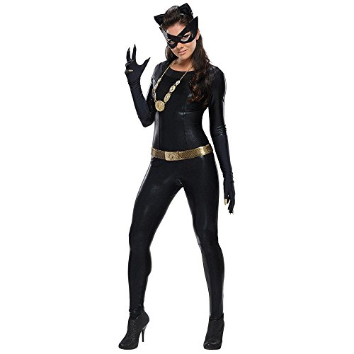 Catwoman Grand Heritage Adult Womens Costumes (Warner Bros. Women's Batman 1966 Catwoman Grand Heritage Costume)