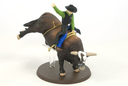 Big Country Toys PBR Bushwhacker Rodeo Bull with Rider