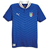 Puma Italy Home Jersey 2012 (Royal/White, AS)