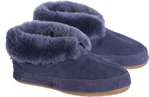 Pantofole Overdose Di Pecora Classica Overdot Delle Donne Bluejay