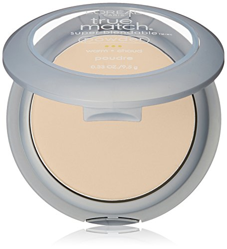 L'Oréal Paris True Match Super-Blendable Powder, Nude Beige, 0.33 oz.