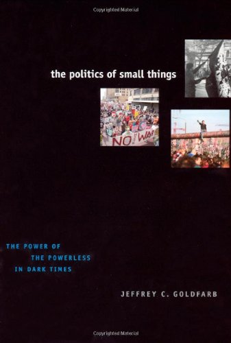 The Politics of Small Things: The Power of the Powerless in Dark Times