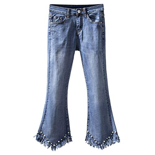 Campana Con Micro Tamaño Xxxl Pantalón Cintura Alta Azul color Jeans Nine De Cuentas Points Rxf Bajos Azul IxUw5qfxg