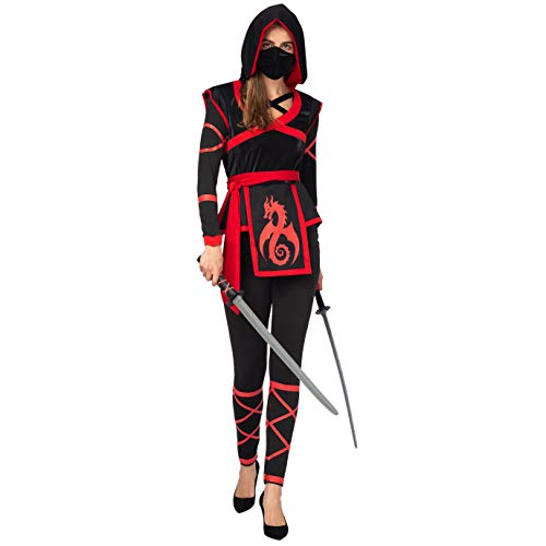 Spooktacular Creations Halloween Darkness Ninja Warrior Costume