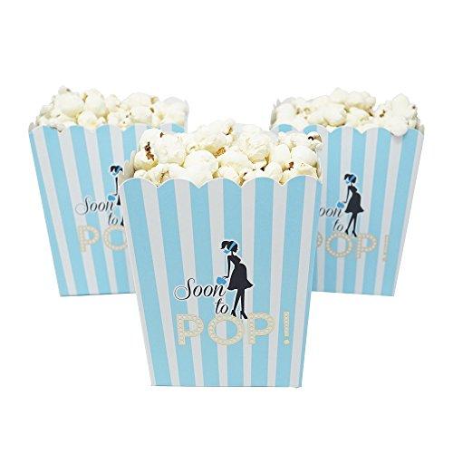 baby blue popcorn box - 3