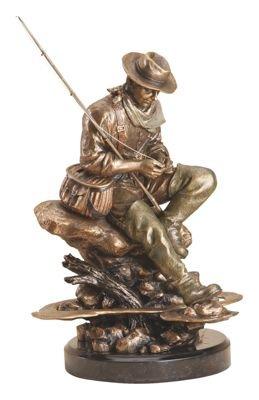 Bliss Bronze Color 13 x 8 Hand-cast Resin Decorative Sculpture - Montana Bronze Sculptures