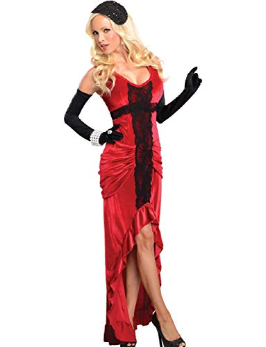 Womens Adult Sexy 20s 30s Jazz Club Singer Entertainer Costume -