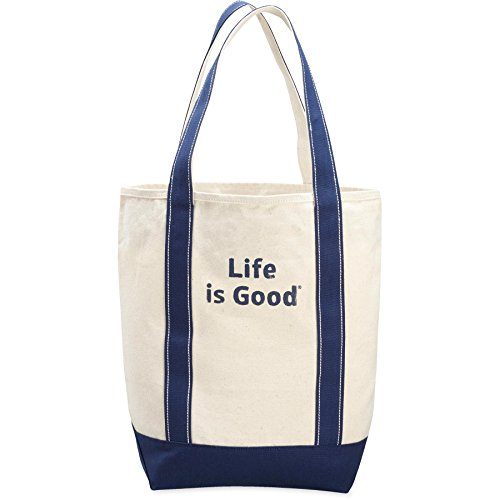 Life is Good Carry-On Canvas Lig Stack Backpack, Natural, One ()