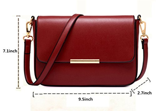Leather Purse Handbag Shoulder Satchel Crossbody Women's Bag Color Candy PU for Black Girls Small TianHengYi vIPqaZ