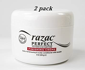 Razac Perfect For Perms Finish Creme 8 Ounce (235ml) (2 Pack)