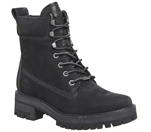 Donna Timberland JET Y Valley Courmayeur BLACK Stivaletti RxSwUq