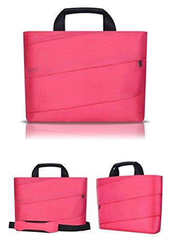 Bolso Inch Pulgadas Tela 15 Macbook Pro Para Portátil Nylon 14 Rose De Funda Yijee 15 Sleeve 13 Blanda 4qaXw