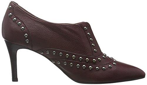 Paco Gil P3091 - Zapatos abotinados Mujer Granate