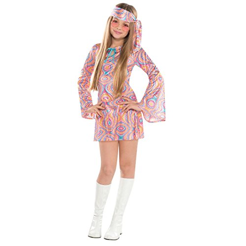 Suit Yourself Disco Diva Halloween Costume for Girls, Large, Includes ()