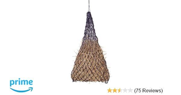 Amazon com: Tough 1 Slow Feed Hay Bag Black: Pet Supplies