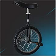 Unicycle, Adjustable Extended Seat 16/18/20/24 Inch Wheel Unicycle for Adults Kids Men Teens Boy Rider, Mounta