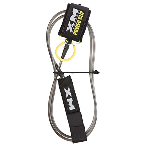 XM Surfboard Leash/Power-Clip/Big Wave (.313in) // Made in USA / 3 Year Stoked Warranty