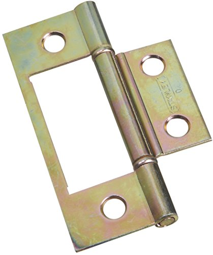 Stanley Hardware S402-134 CD40-2134 Bifold Non-Mortise Hinge in Brass , 2 piece