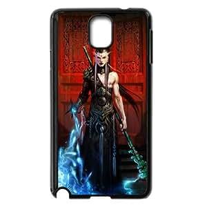 Diablo Iii funda Samsung Galaxy Note 3 caja funda del teléfono celular del teléfono celular negro cubierta de la caja funda EEECBCAAB13431