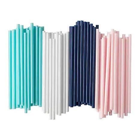 Ikea, cannucce Sötvatten, set da 100 pezzi, con ampio diametro di 8 ...
