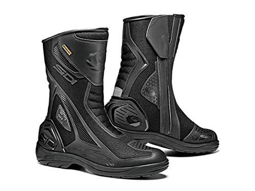 - Sidi Aria Gore-Tex Motorcycle Boots BLACK SZ 10/44