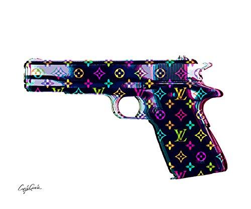 Craig Garcia ルイヴィトン HNDO GUN ポスター A1サイズ (マルチ) B01EVUK82O マルチ マルチ