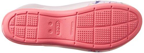 Floreale Crocs corallo Motivo Rosa Con 8FFOE