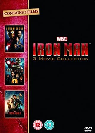 Iron Man 1-3 Complete Collection [DVD]: Amazon co uk: Robert