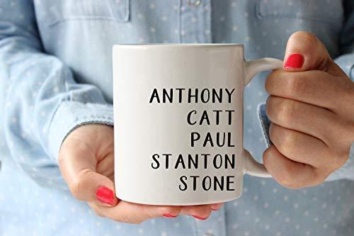 Womens Rights Feminists Mug, Suffrage Movement Leaders Coffee Mug, Paul Stone Stanton Catt and Susan B Anthony