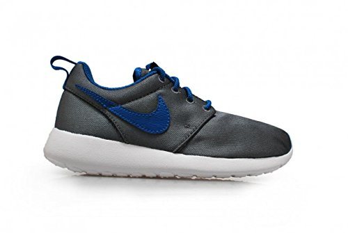 Nike Rosherun (gs) Boys Running Shoes Cool Grigio Militare Blu Bianco 009