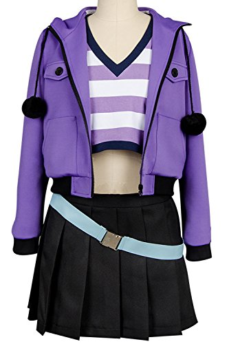 Ya-cos Fate/Grand Order FGO Apocrypha FA Rider Astolfo Cosplay Costume Casual Suit Coat,Purple,Female Medium