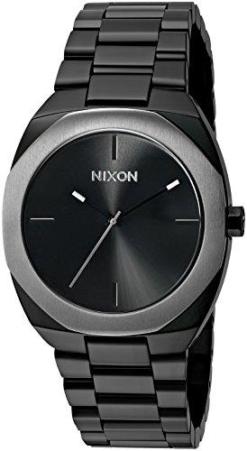 Nixon Women's 'Catalyst, Silver' Quartz Stainless Steel Watch, Color:Black (Model: A918-180-00)